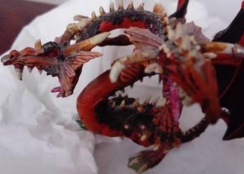 Figurka fantasy dwugłowy smok