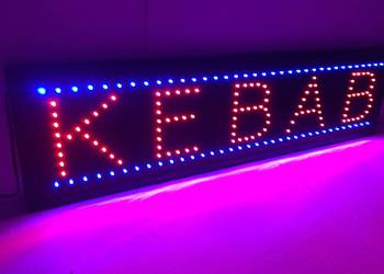 KEBAB reklama szyld LED 95x25cm NOWA producent