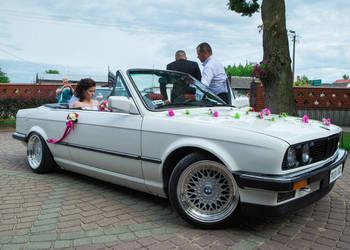 Auto do Ślubu,wesele, BMW E30 cabrio