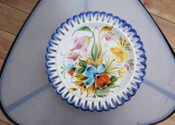 Bassano - talerz majolika