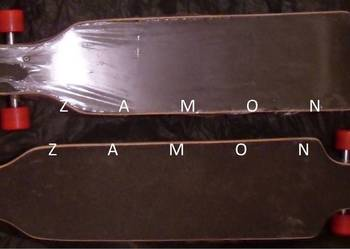 Deskorolka longboard 106X25X9