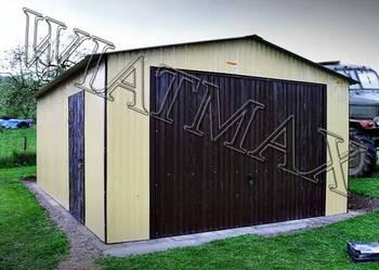 Garaż blaszany 4x6, garaże, garaz, hala, profil