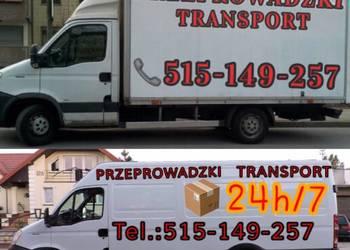 Tanie przeprowadzki. Bagazowka, transport warszawa.
