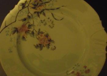 Kuzniecow ANTYKI PORCELANA 1867 porcelana 5 dużych talerzy
