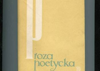 Proza poetycka  Iwaszkiewicz