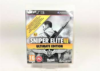 GRA NA PS3 SNIPER ELITE 3: ULTIMATE EDITION PL
