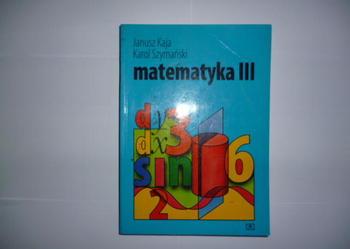 Matematyka III Kaja Szymański