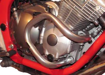Gmole HEED do Yamaha XJ 600 Diversion (91-03) srebrne
