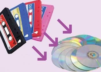 Kopiowanie przegrywanie kaset audio na płyty CD lub kompresj