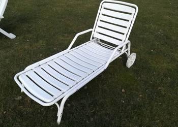 Leżak ogrodowy łóżko regulowany na oparciu leżaki krzesło fo