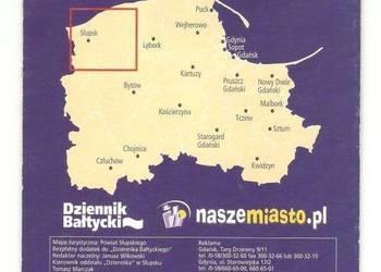 Mapa turystyczna - Powiat słupski