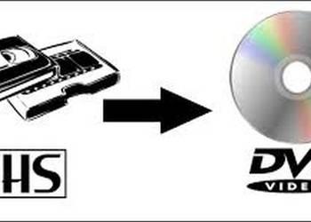 Przegranie kasety wideo VHS na DVD
