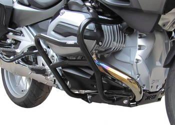 Gmole przednie HEED BMW R 1200 RT LC (2014 - 2017) czarne