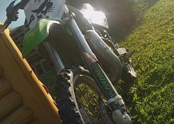Kawasaki kx 85 fmf (zamienię na rieju honda beata senda)