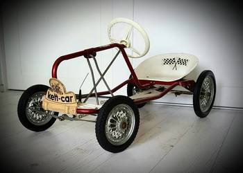 Zabytkowy Gokart Kettler Kett-car 1964