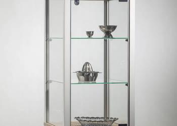 Gablota nadstawka -VA10- gablota szklana zamykana na zamek
