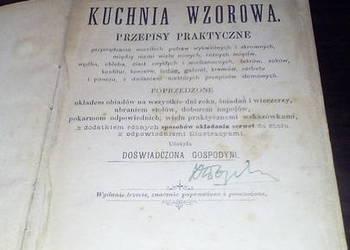 Książka kucharska z XIX wieku!