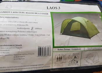 Kempingowy namiot ekspresowy, FlashTents®, 2 osobowy, Pomara