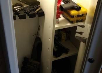 sejf na broń S1; szafa na broń S1 - 4 szt. największy wybór