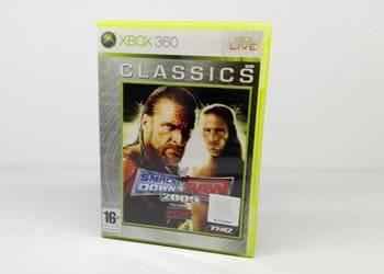 GRY XBOX 360 SMACKDOWN VS RAW 2009 TANIO!!