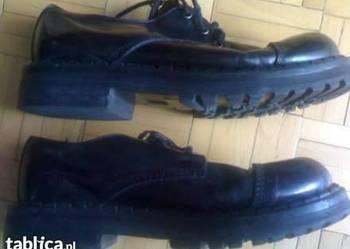 Sprzedam buty Glany 3-dziurkowe kolor ciemny bordo