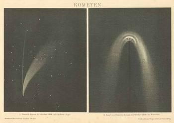 ASTRONOMIA - Planety  oryginalne XIX w. grafiki