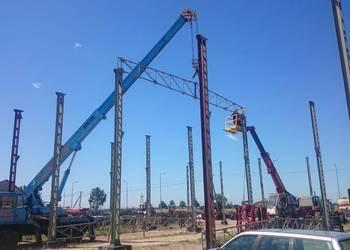usługi dźwigowe 12,5 ton żuraw dźwig
