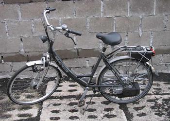 Rower z silnikiem spalinowym Sachs 301A