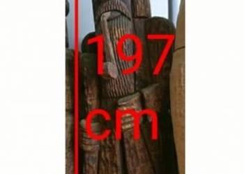 Rzeźba starca z fajką wys.197cm i Obw.175cm!