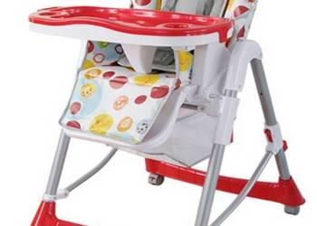 Krzesełko do karmienia dziecka. Warszawa -wysyłka Czerwony