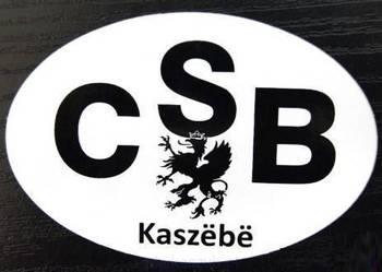 Naklejka - Kaszëbë CSB