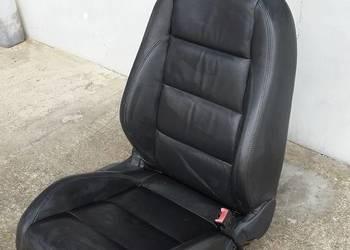 Fotel pasażera Golf V  skórzany