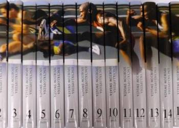 W. Lipoński - Encyklopedia sportów świata 16 tomów