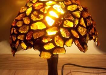 lampka,lampy z bursztynu TIFFANY PRODUCENT