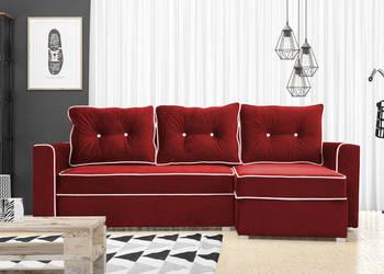 Narożnik JACK wypoczynek sofa mebel łóżko pojemnik