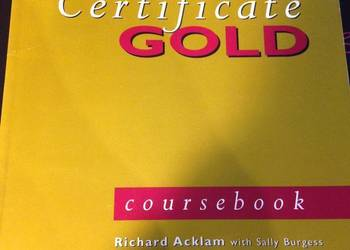 First Certificate Gold coursebook Richard Acklam