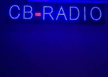 Reklama LED CB RADIO120x25cm ZEWNĘTRZNA