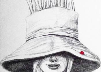"""""""OWOCOWANIE"""" rysunek ołówkiem z dodatkiem akwareli"""