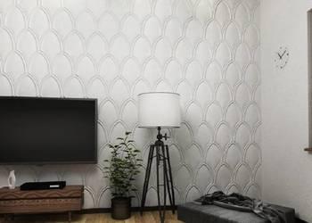 Panel ścienny 3D MOLDE panele gipsowe dekoracyjne ścienne