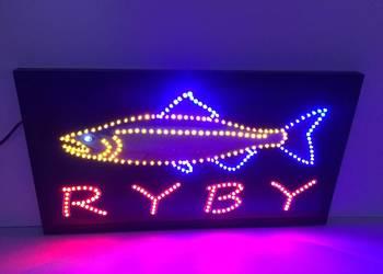 Neon szyld reklama LED 68x38cm NOWOŚĆ zewnętrzna