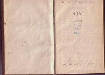 (5224) NIEMY – OTTO F. WALTER