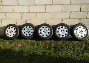 Koła ,Felgi,Opony 5x112 195/65/15 letnie z Audi nowa cena.