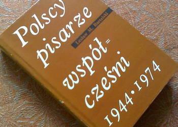Pisarze polscy współcześni 1944-1974- Lesław Bartelski