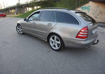 Mercedes-Benz Klasa C serwis, klima, navi, xenon, super stan