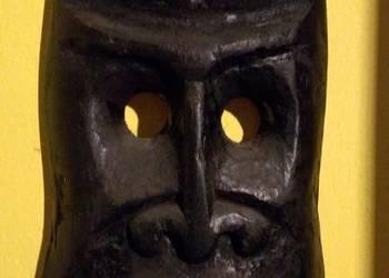 maska drewno rzeźba
