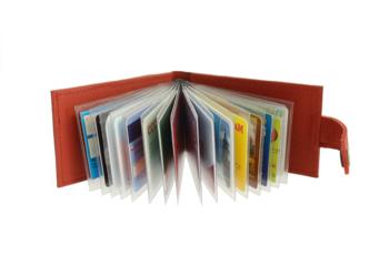 Etui na dokumenty skórzane etui na karty kredytowe