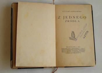 Z JEDNEGO ŻRÓDŁA Gustaw Daniłowski wydanie1919 r.