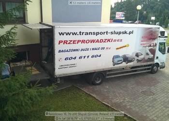 Bagażówka Słupsk okolice Polska Tanio Profesjonalnie Na Czas