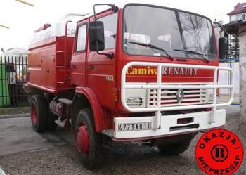 Wóz strażacki 4x4 Renault S170 rok 1991 zabud. Camiva 6000 l