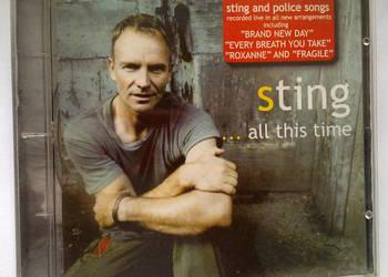 Sting. All this time. Płyta CD.
